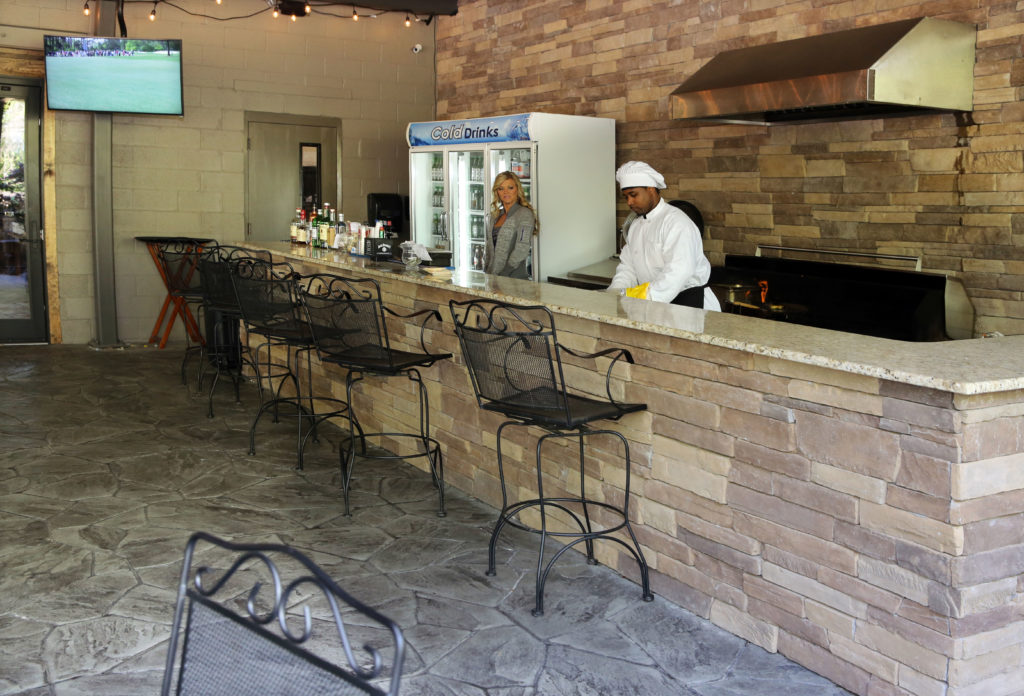 The Foundry - Patio Bar and Grill during Masters hospitality