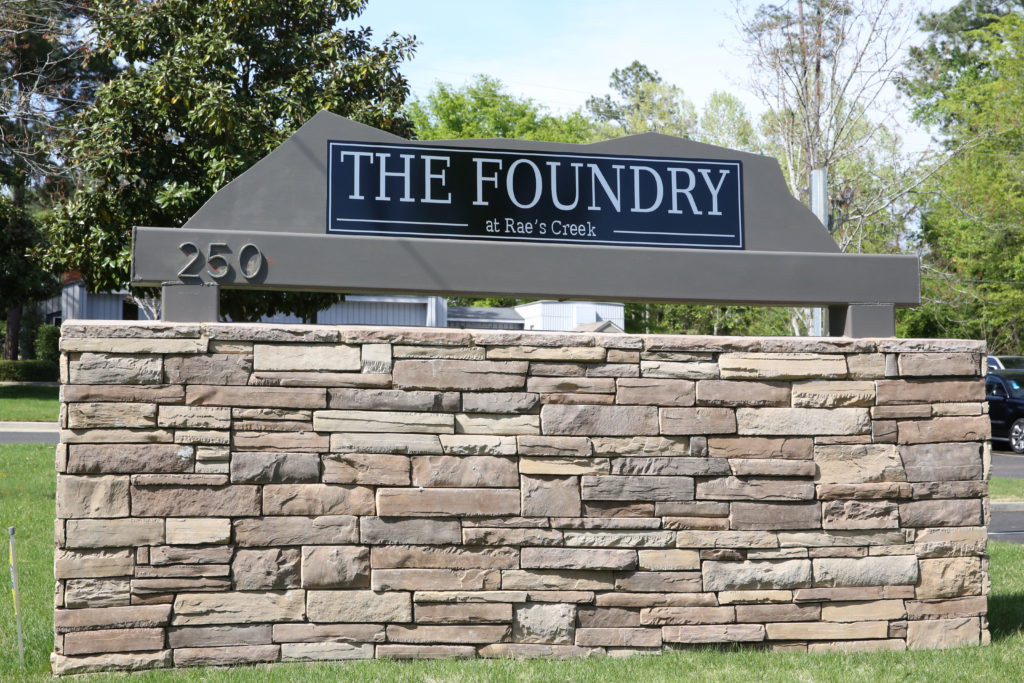 The Foundry Sign