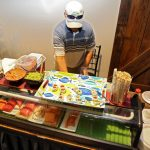 Hand-rolled sushi included with Masters hospitality