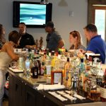 Full open bar at The Foundry during Masters hospitality